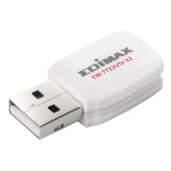 Edimax Draadloze USB-Adapter N300 2.4 GHz Wit
