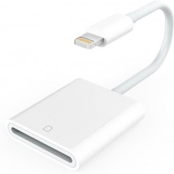 Lightning naar SD kaartlezer cardreader voor iPhone en iPad