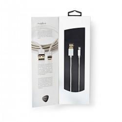 Oplaadkabel 8pin voor Apple Iphone en Ipad (2 meter)